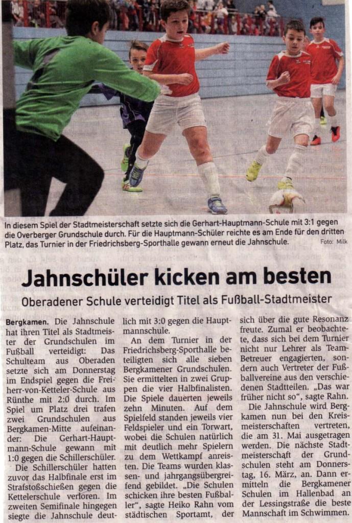 Stadtmeisterschaft Fußball HA 10_2_17